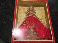 Christmas limited edition Barbie doll