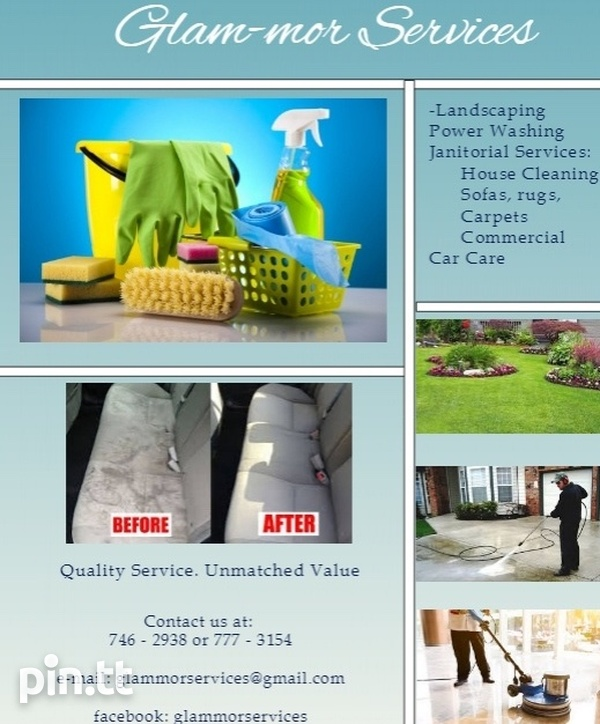 Glam-mor services , quality services, unmatched value-1