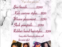 Touched by destiny hairdressing
