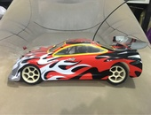 HPI RS4 nitro RC car