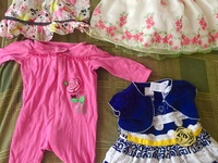 10 piece pre-owned baby clothing lot