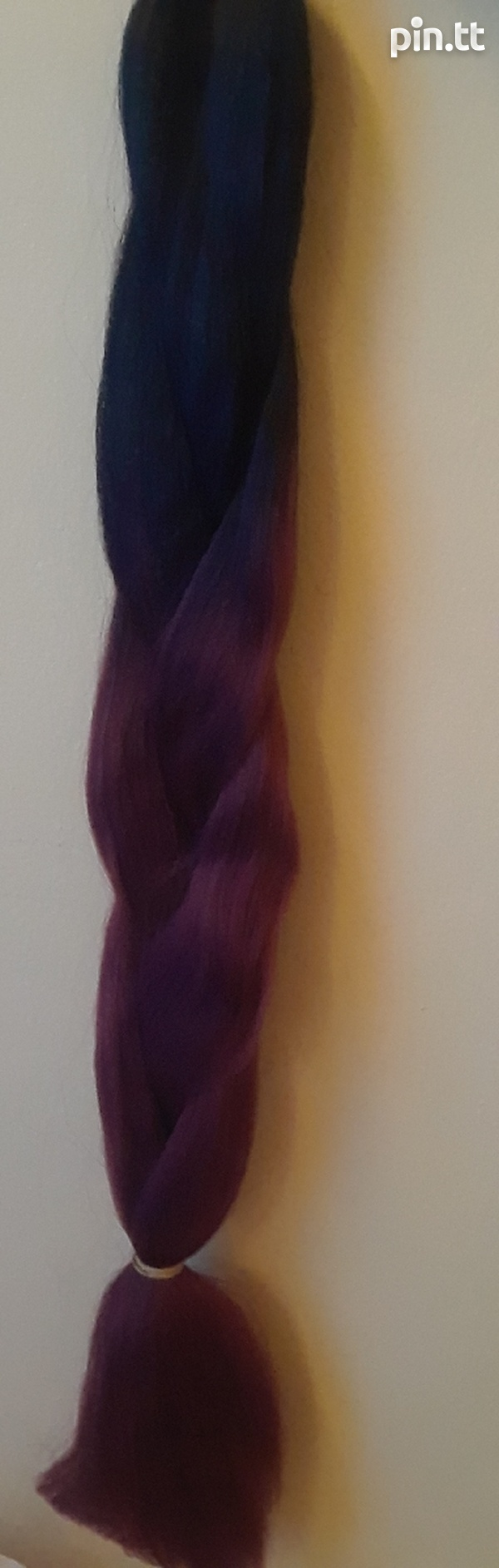 2 Toned and solid colour Synthetic Braiding Hair-3