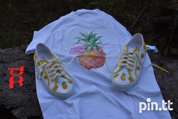 Pineapple Shoes Hand Crafted-8