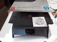 Printer extra ink and paper