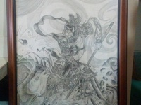 Art piece monkey king
