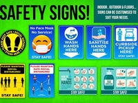 Signs and stickers