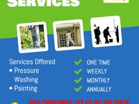 Outdoor cleaning services