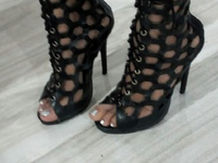 Caged Kim K inspired heels 7