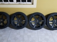 17'' AD6 Rims And Tyres