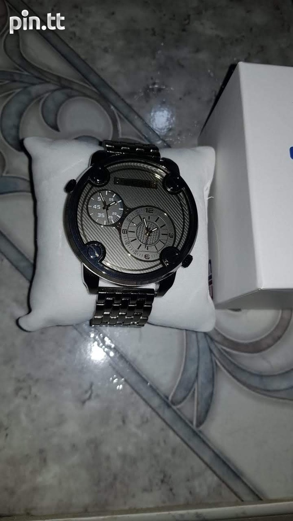 POSH Gunmetal Watch-3