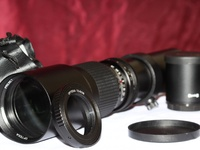 Super 500mm/1000mm f/8 Manual Telephoto Lens