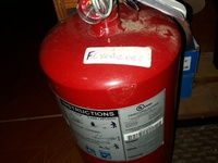 Full Fire extinguisher