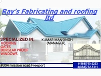 Ray's Fabricating and Roofing ltd.