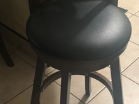 New Spinning solid Wooden Bar Stools