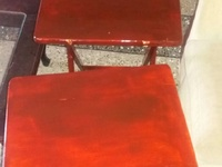 Folding tables and stand
