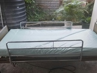 Semi Automatic Hospital Bed