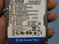 Hard drive and power supply combo