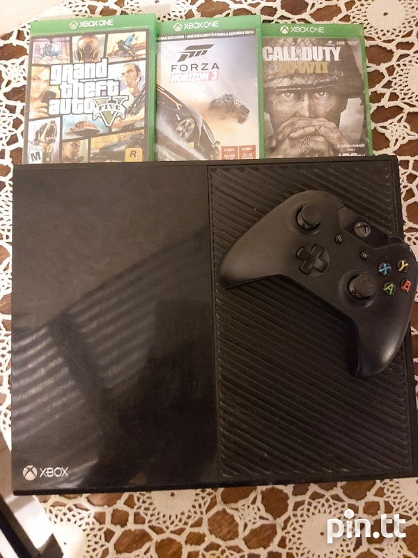 xbox one with 3 awsome games-2