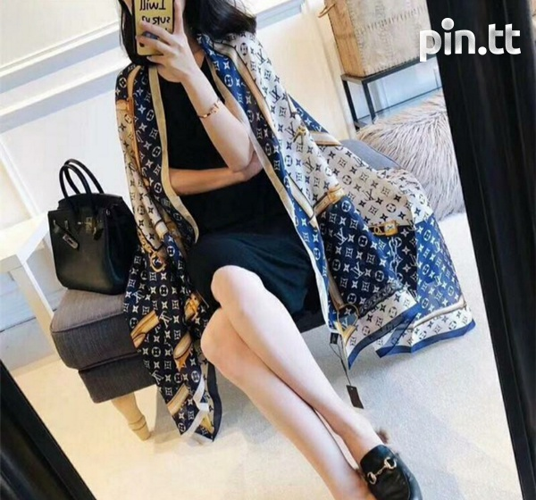 Louis Vuitton Silk Shawl/Scarf-1