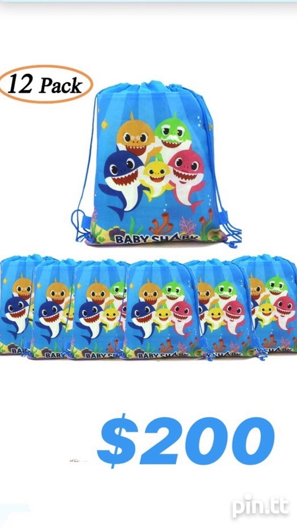 Baby Shark Party Bags-2
