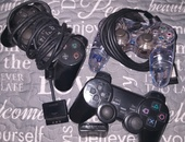 3 PS2 Controllers