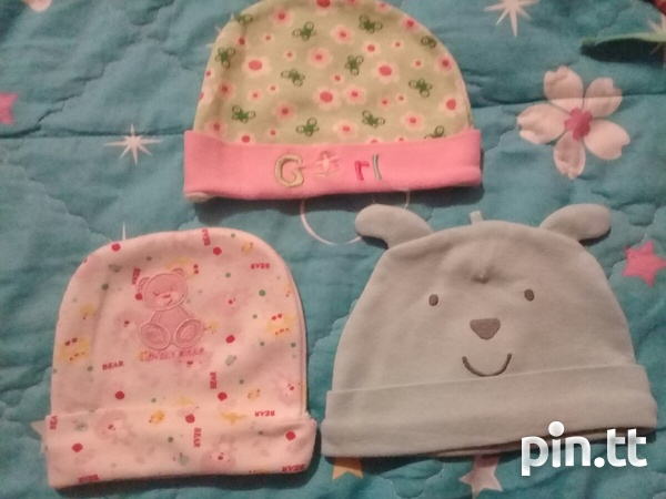 BABY HATS AND DINSEY MINNIE SUIT PANTS AND TOP-1