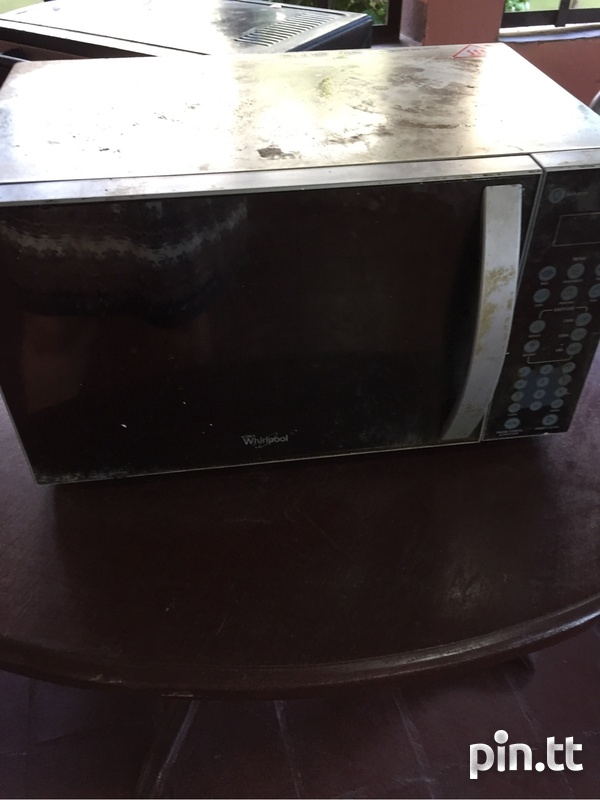 Used toaster and microwave-2