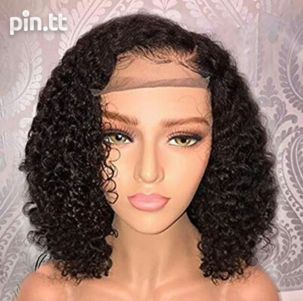 Human hair Lace front wig-1