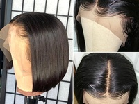 Brazilian Human Hair Lace Front Wig