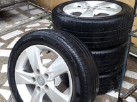 5 hole rim and tyres