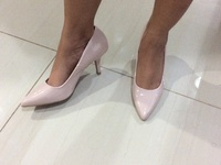 Nude pumps, new in box