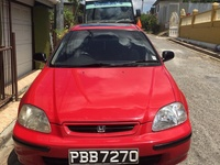Honda Civic, 1997, PBB