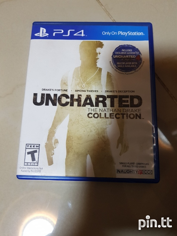 PS4 Uncharted Nathan Drake Full Collection-1