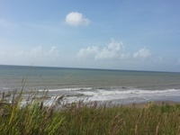 approved beach front parcel
