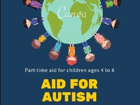 Part-time aid for children with Autism