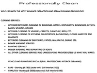 Bouncy Cleaning Services