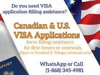 US and Canada Visa Application Filling Assistance