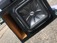 Kicker 12 Inch Subwoofer With box