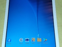 Samsung tab E 9.6inch works with sim card comes with shock proof case