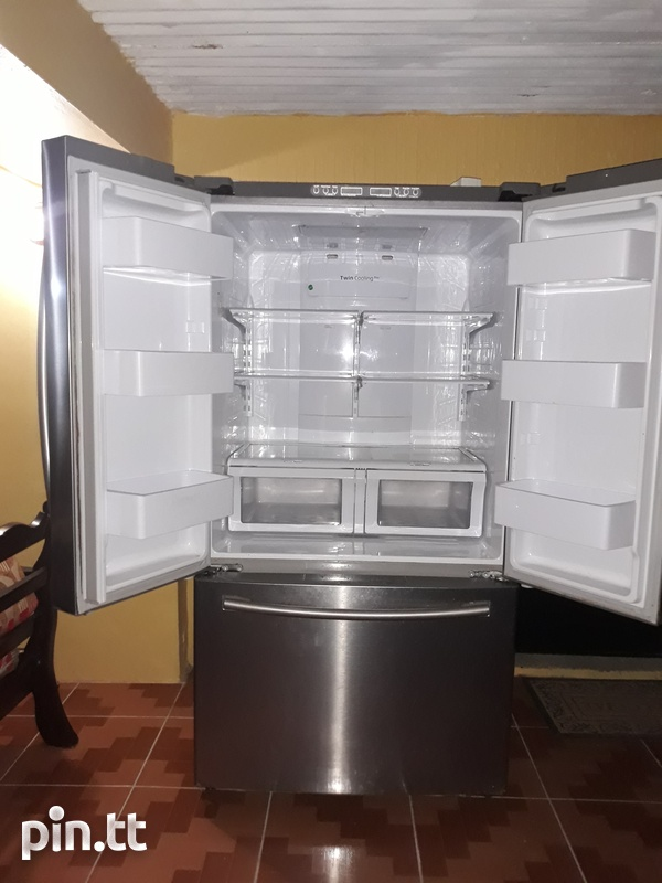 Samsung Chrome French Door Refrigerator-3