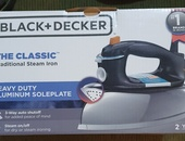 Cassic auto shut off steam iron