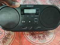 One Sony stereo boombox