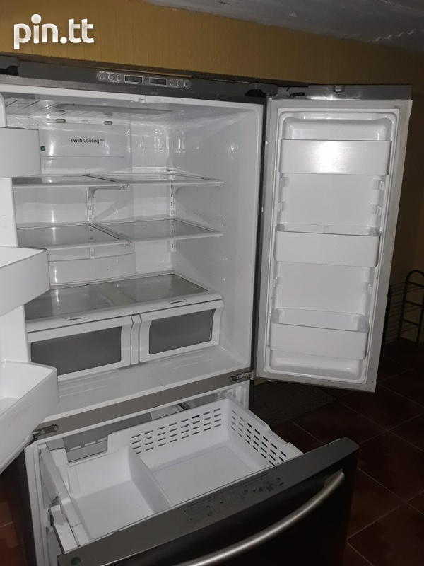 Samsung Chrome French Door Refrigerator-6