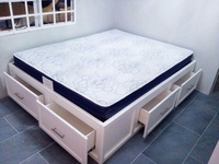 four drawer bed