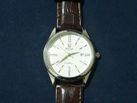 Leather Band Rolex Cellini Watch