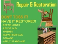 Furniture repairs