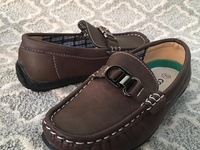Kids/Boys loafers - New 12