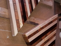 Hand made endgrain cutting boards and counter tops.