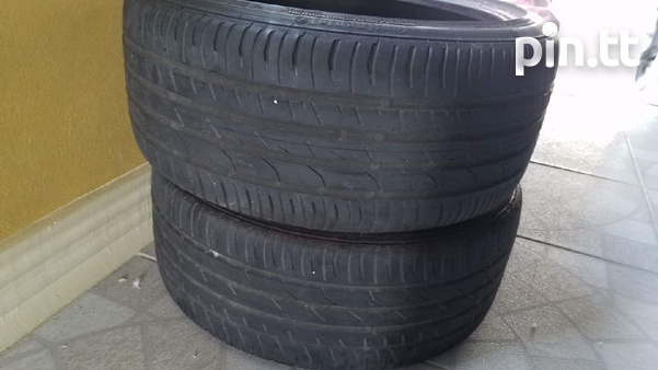 Pair 215/40/17 Continental Tyres-1