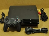 PS3 with Game and Controller